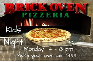 Brick Oven Kids Eat Free