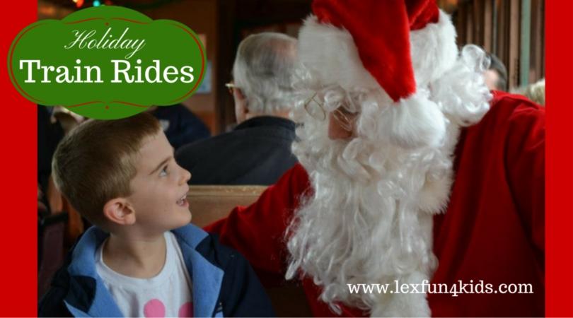 Christmas Train Rides Lexfun4kids