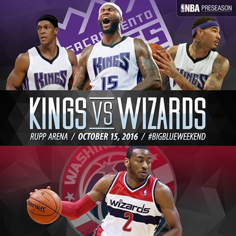 former cats in action! wizards vs. kings at rupp • lexfun4kids