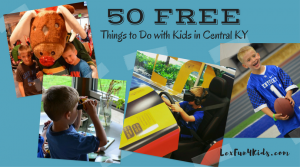 50 FREE Fun Things to do With Kids in Central KY