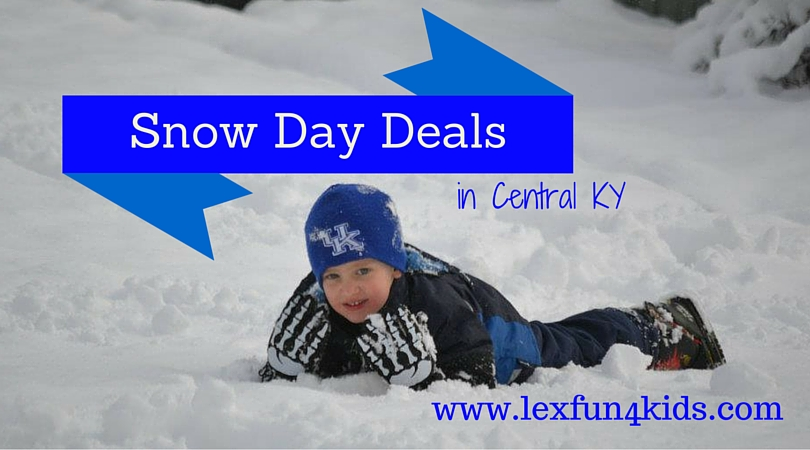 snow day deals