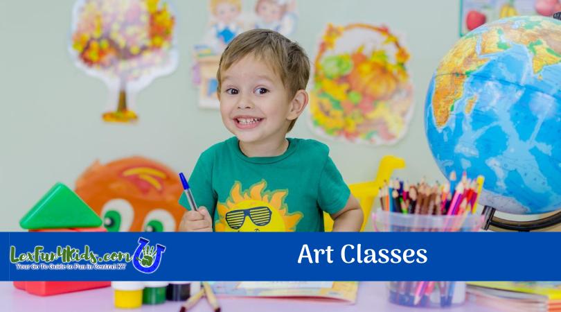 art classes lex fun 4 kids