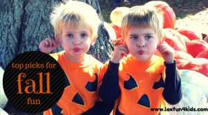 Top Picks for Fall Fun for Kids