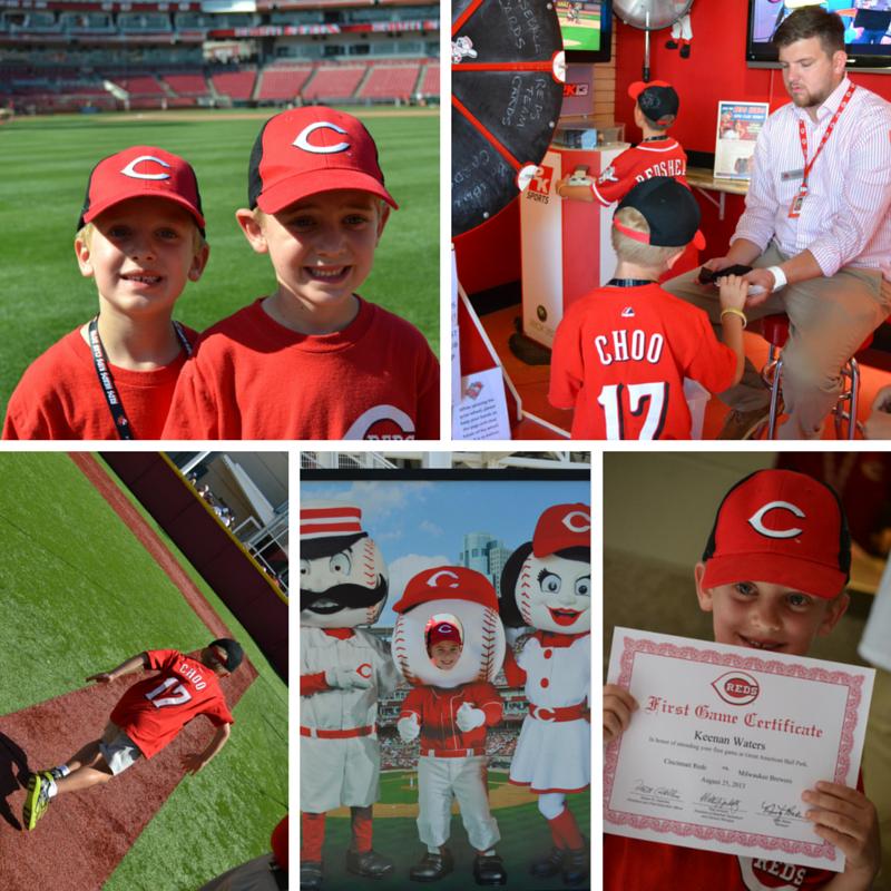 Cincinnati Reds Heads Kids Club Lexfun4kids