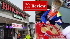 Brick Oven Pizzeria Kids Night *Review