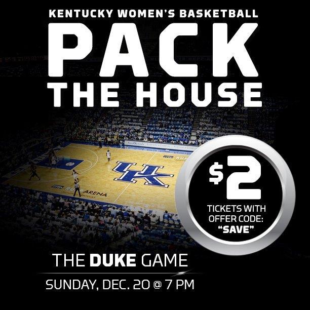 Pack the House vs Duke