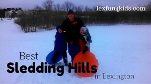Best Sledding Spots in Lexington