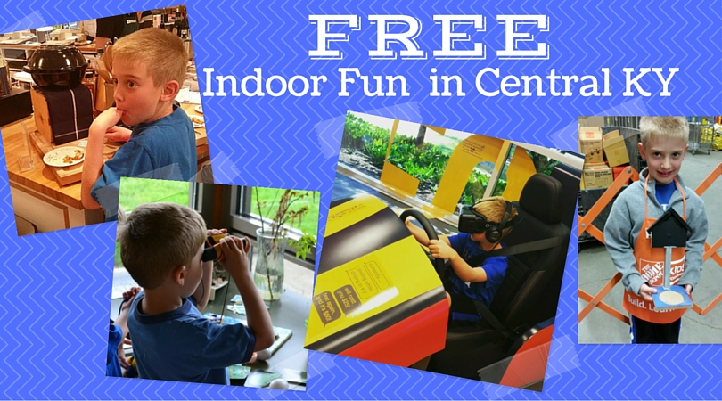 FREE Indoor Fun In Central KY O LexFun4Kids