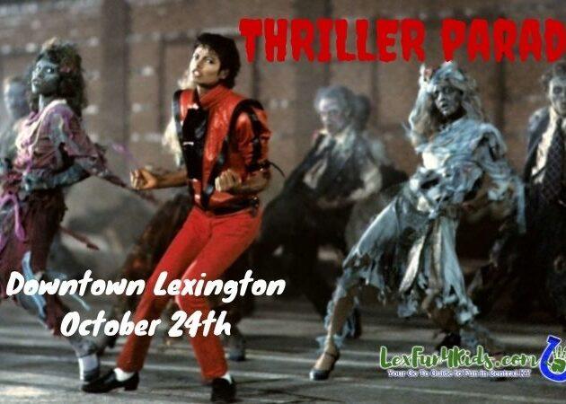 Lexington Thriller Parade graphic 2021