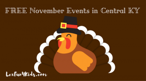 FREE Family Fun Events - November 2017