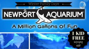 Newport Aquarium Winter Family Days 2018 *FREE Admission