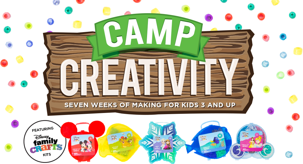 Michaels Craft Stores Camp Creativity 2017