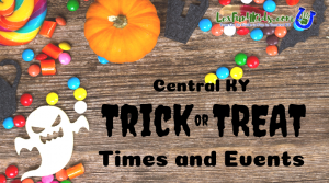 Trick or Treat Times and Events