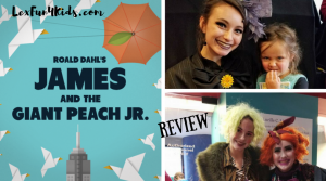 James and the Giant Peach Jr. at the Lexington Children's Theatre  *REVIEW*