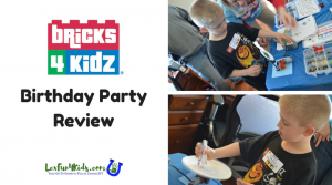 Bricks 4 Kidz Birthday Party Review