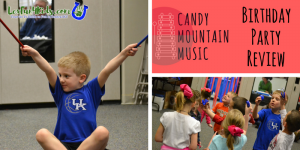 Candy Mountain Music Birthday Party Review