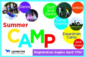 Lexington Parks and Recreation Summer Camps 2018