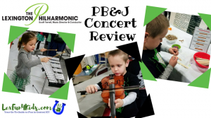 Lexington Philharmonic PB & J Concert Review