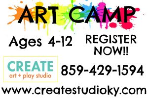 Camp Creativity at Create Art + Play -  Summer Camps 2018