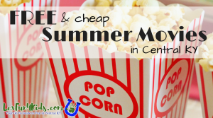 Summer Movie Events