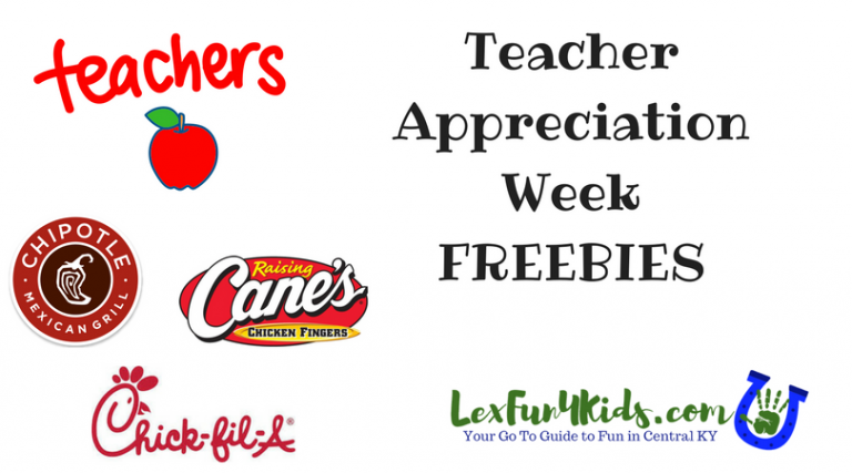 Teacher Appreciation Week Freebies 2018 Lexfun4kids