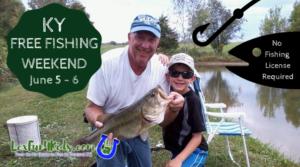 FREE KY Fishing Weekend 2021