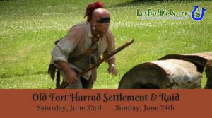 Old Fort Harrod Settlement and Raid