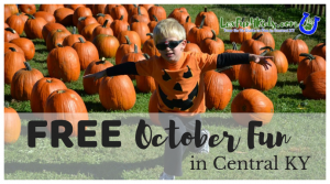 FREE October 2018 Family Fun Events