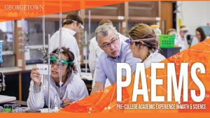 Pre-College Academic Experience in Math and Science (PAEMS) Camp 2019