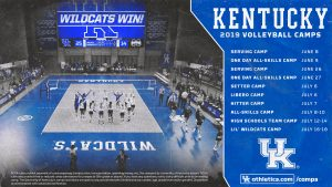 UK Volleyball Summer Camps 2019