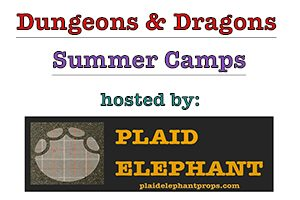 Dungeons and Dragons Summer Camps 2019