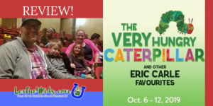 REVIEW!  The Very Hungry Caterpillar & Other Eric Carle Favourites