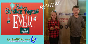 The Best Christmas Pageant Ever: The Musical at LCT 2019 *Review!*