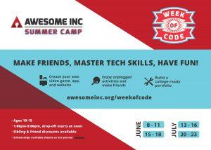Week of Code Summer Camp 2020
