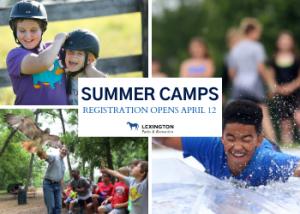 Lexington Parks and Recreation Camps 2020