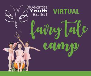 Bluegrass Youth Ballet Virtual Summer Camps 2020