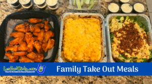 Take Out Family Meals