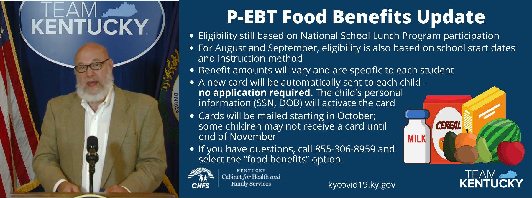 Kentucky PEBT benefits update