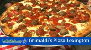 Grimaldi's Pizza REVIEW!