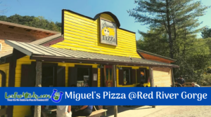 Miguel's Pizza in the Red River Gorge REVIEW!