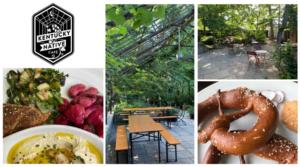 Kentucky Native Cafe: Enjoy dinner in a garden!