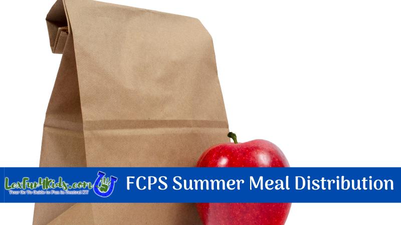 FCPS Meal Distribution Summer 2021
