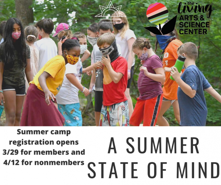 Living Arts and Science Center Summer Camps 2021