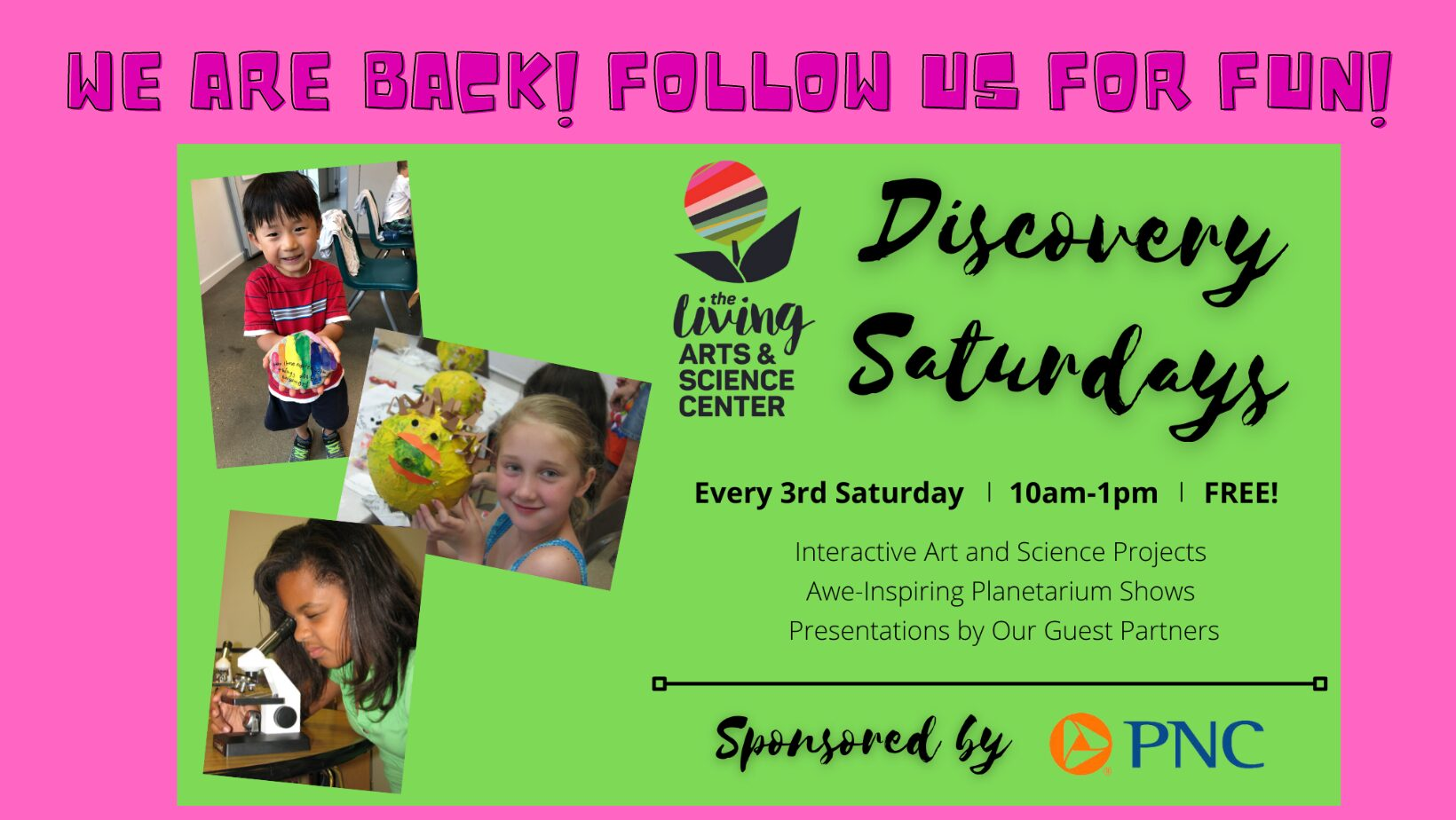 Discovery Saturday LASC