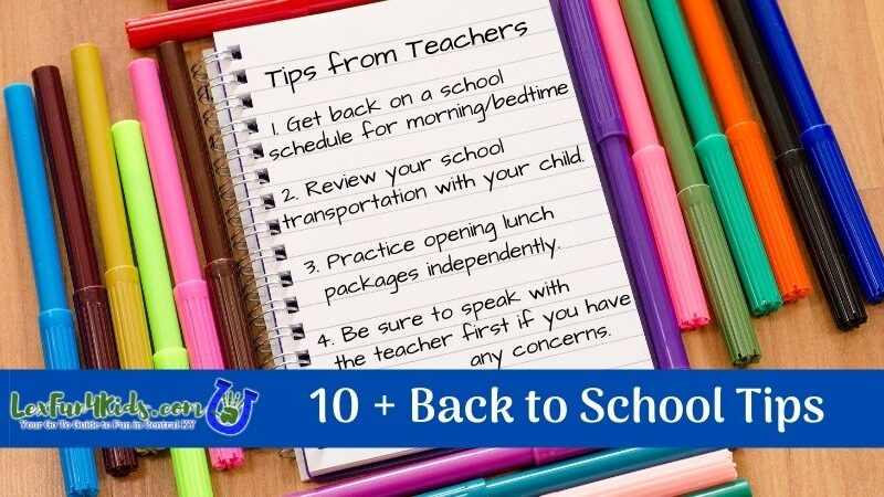 10+ Back to School Tips from Teachers