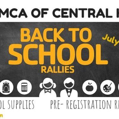 YMCA Back to School Rallies