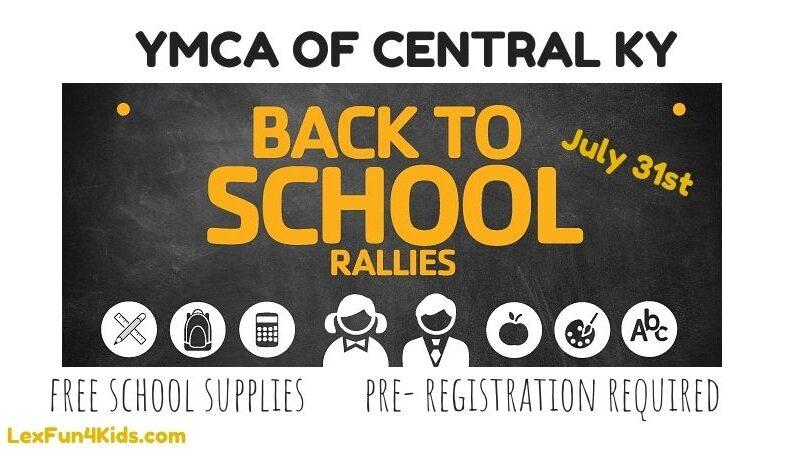 YMCA Back to School Rallies 2021 *Drive-thru