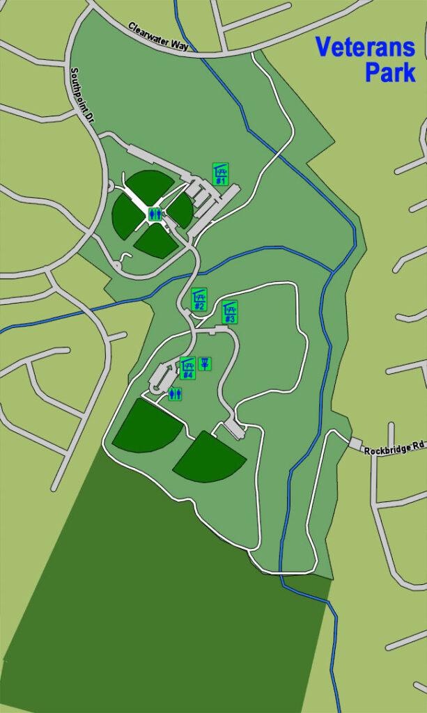 Veterans Park Map