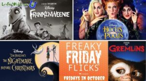 Freaky Friday Flicks 2021 Movies Graphic