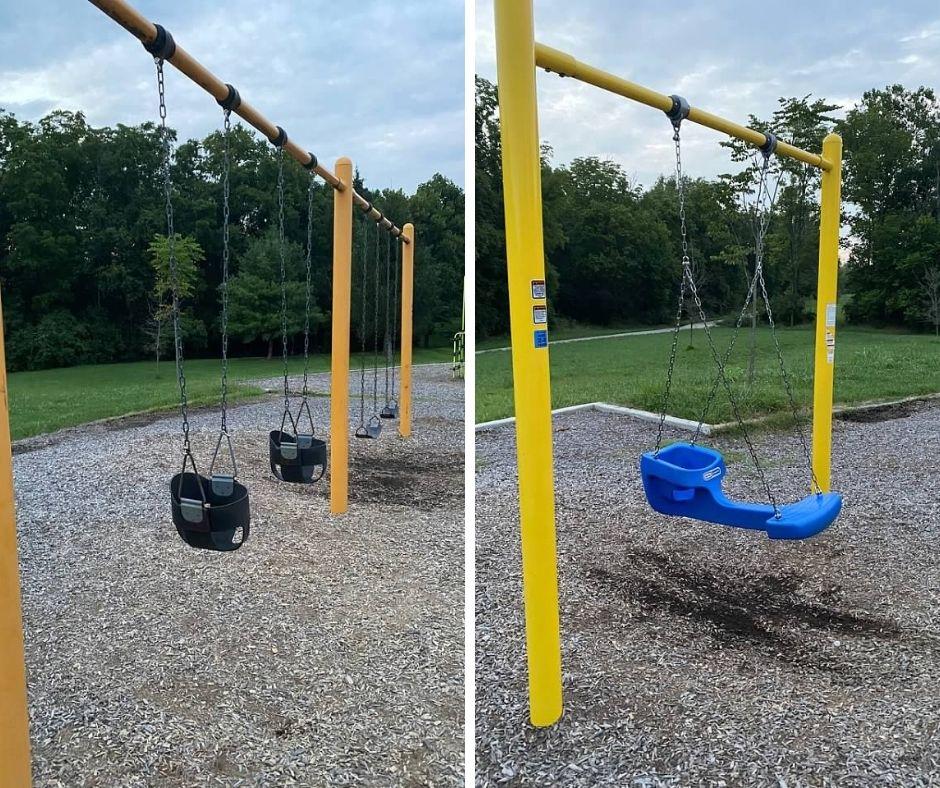 Veterans Park Swings